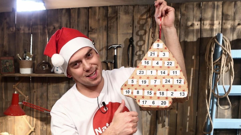 Vychytávky Ládi Hrušky - Adventní kalendář z roliček od toaletního papíru