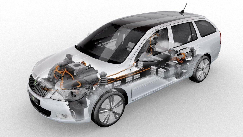 Škoda už představila koncept elektromobilu