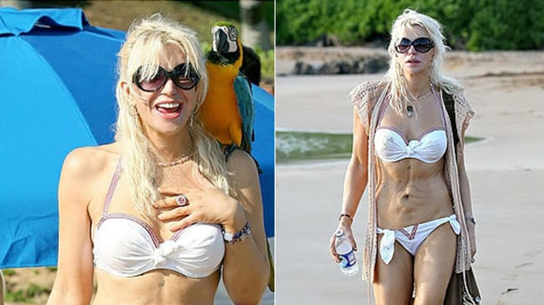 Herečka a zpěvačka Courtney Love