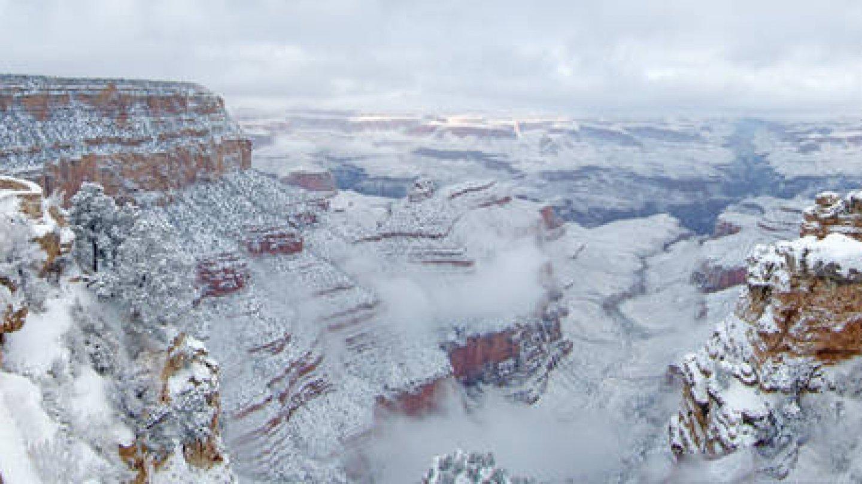 Grand Canyon a jeho nejkrásnější zimní fotografie - Obrázek 39