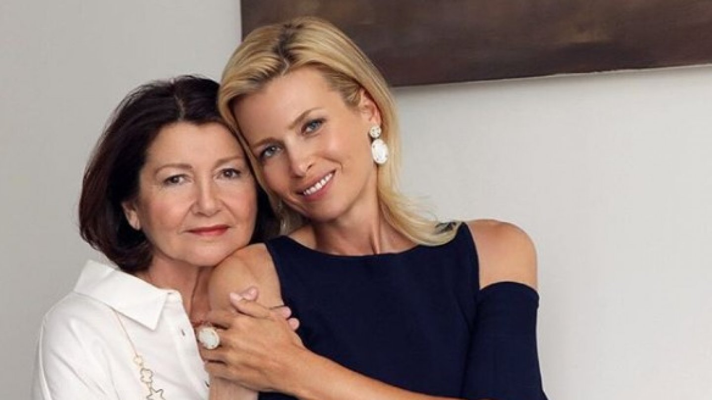 Daniela Peštová s maminkou