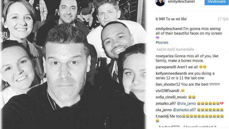 David fotil selfie s kolegy