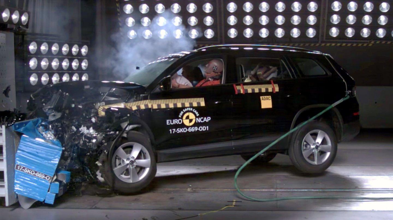Škoda Kodiaq prošla nárazovými testy.