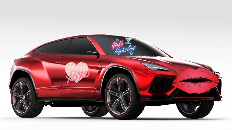 Lamborghini Urus má být dokonalé pro dámské jízdy.