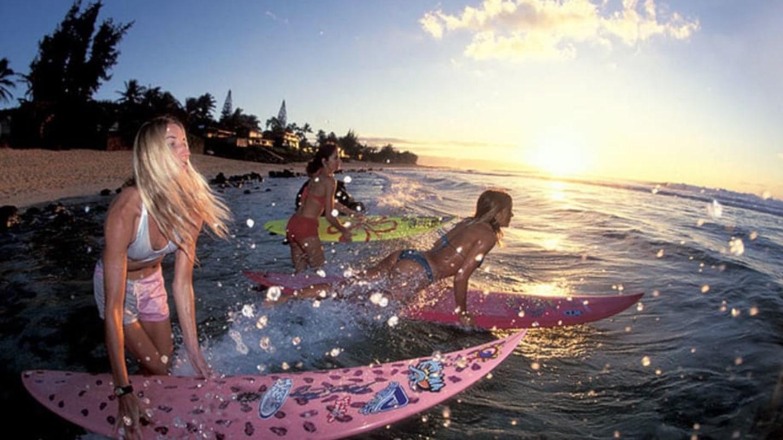 Sexy surfařky