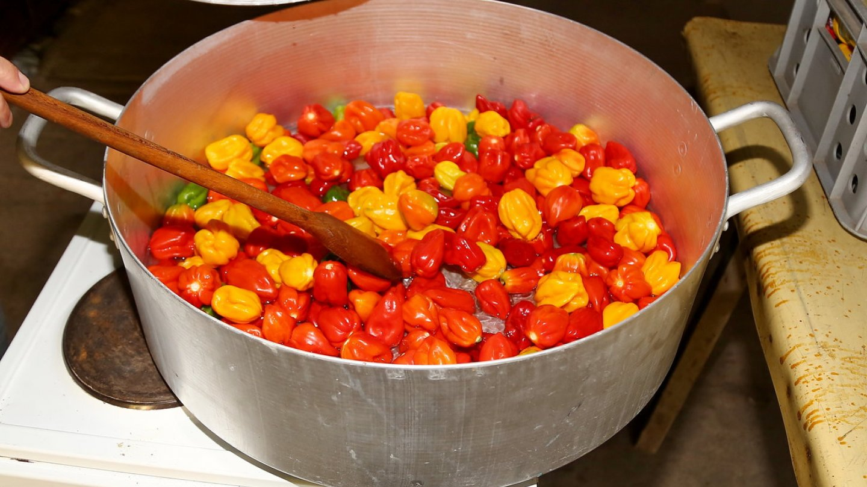 Marmeláda z chilli papriček