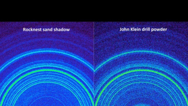 Srovnání dvou vzorků odebraných Curiosity na Marsu.FOTO: NASA