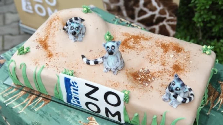 Lemuří dort od Božské Markéty