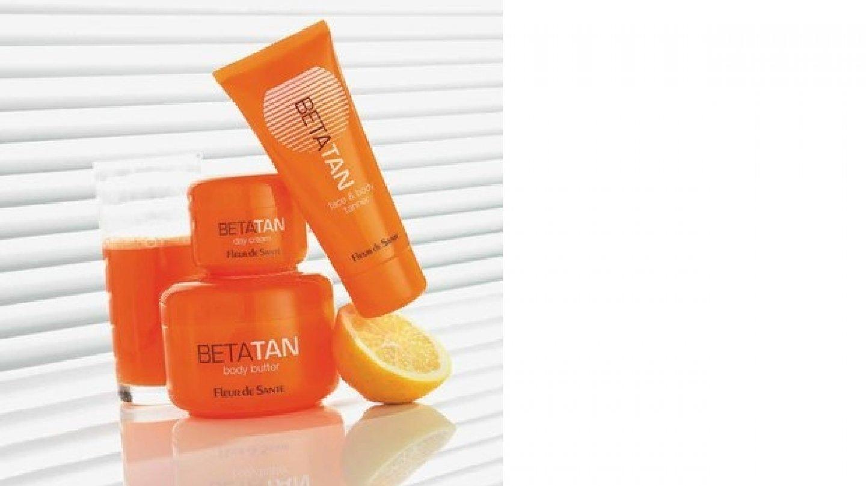 Betatan – vyživující kosmetika pro pleť namáhanou slunečním zářením.