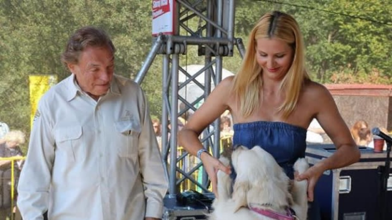 Ivana Gottová s manželem a psím šampionem