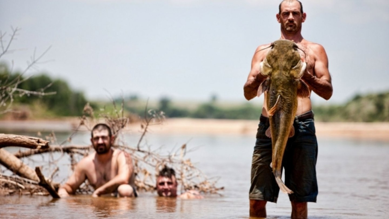 """Máte za to, že rybaření je poklidná, meditativní činnost? Pro českého rybáře možná, zato Američané z toho dokážou udělat adrenalinovou, akční zábavu. Sumce loví holýma rukama, říkají tomu """"noodling"""". Občas při tom někdo přijde o pár prstů... Nevadi..."""