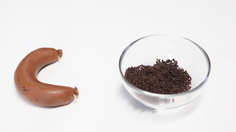 Na jelítko se použijí i kousky čokolády