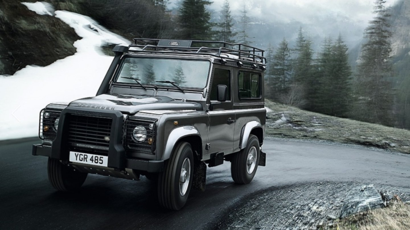 Land Rover Defender..