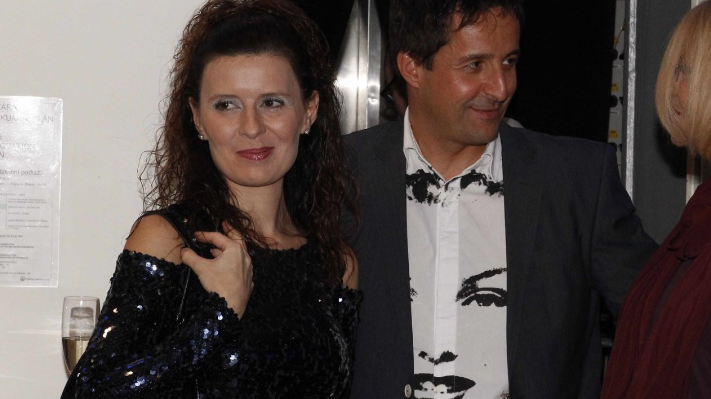 Tomáš Krejčíř s přítelkyní Petrou