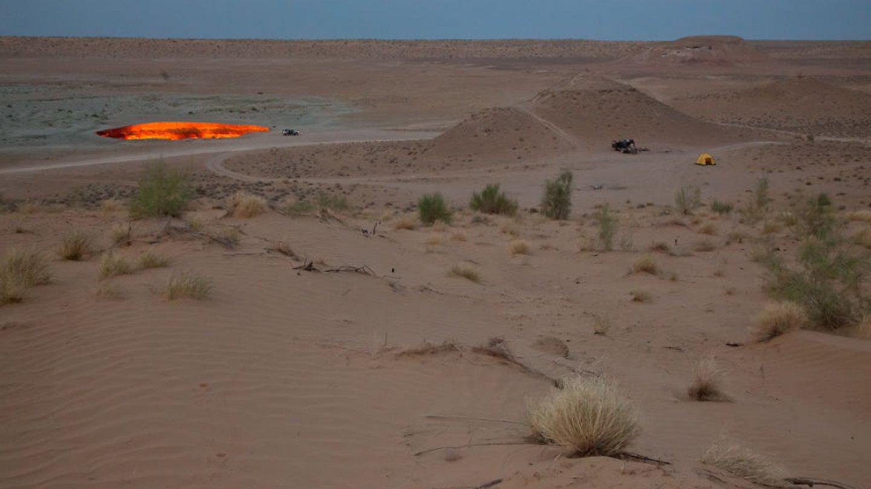 Karakum je poušť ve střední Asii. Zabírá plochu přibližně 350000 km², což je zhruba 70 % plochy Turkmenistánu