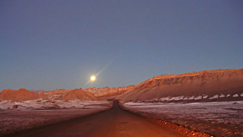 Atacama, poušť v Chile