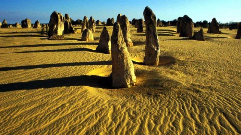 Poušť Pinnacles, Austrálie