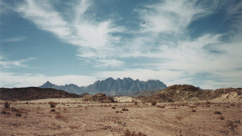 Sinajská poušť, Egypt