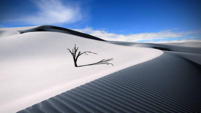 White Sands, Nové Mexiko (USA)