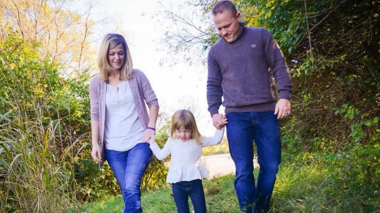 Tříletá holčička bojuje s epilepsií