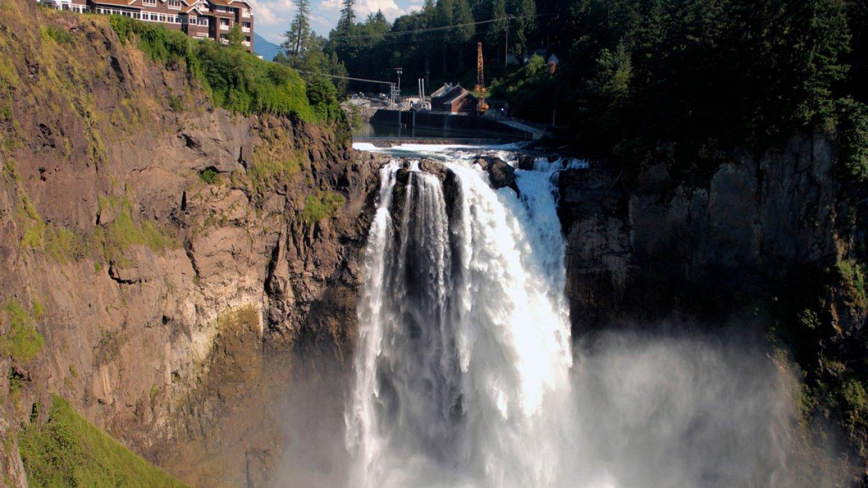 Stát Washington, USA, 82 metrů
