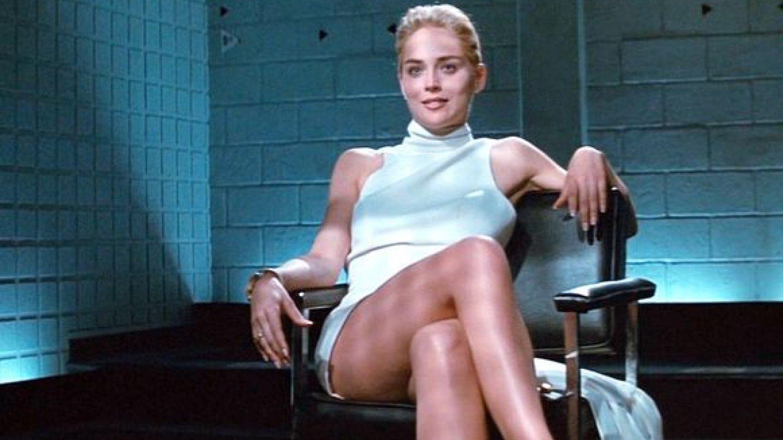 Sharon Stone a její bílé minišaty