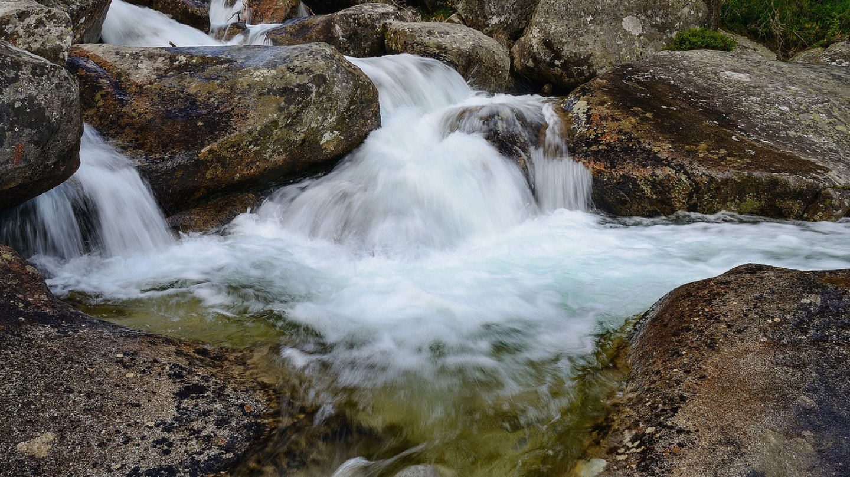 Podzimní vodopády objektivem Jiřího Doležala - Studený potok v barvě