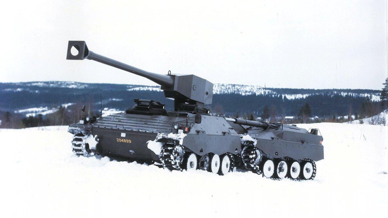 Švédská tanková bizarnost - Švédská tanková bizarnost - Švédská tanková bizarnost - UDES-XX-20 testování v zimních podmínkách