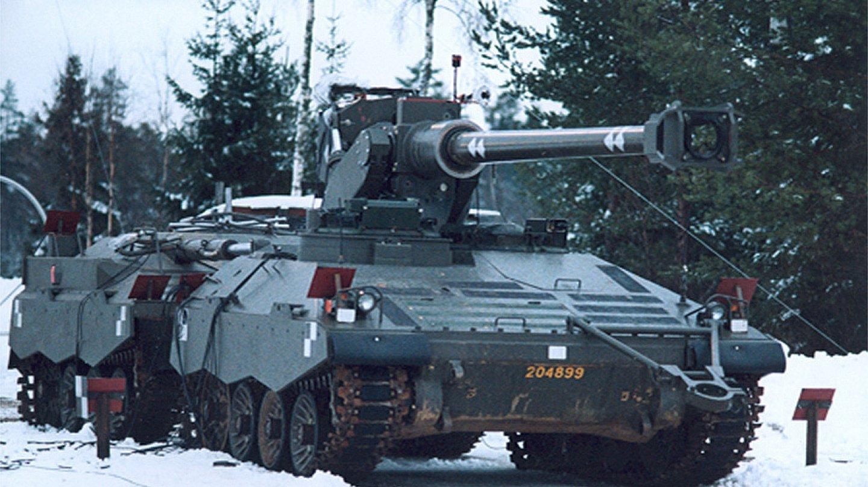 Švédská tanková bizarnost - Švédská tanková bizarnost - UDES-XX-20 zimní romantika