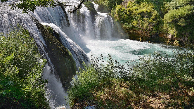 Podzimní vodopády objektivem Jiřího Doležala - kameny