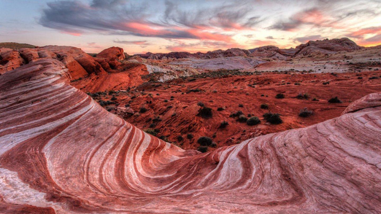 Valley Of Fire, Mohavská poušt (USA, Nevada)