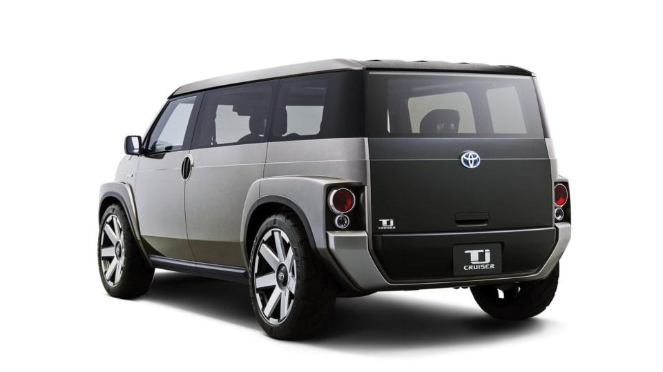 Dodávka i SUV. Toyota Tj Cruiser Concept. 2