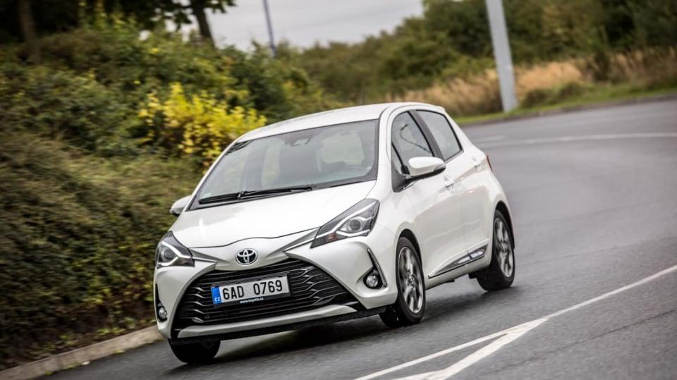 Toyota Yaris 1.5 VVT-iE jízda 6