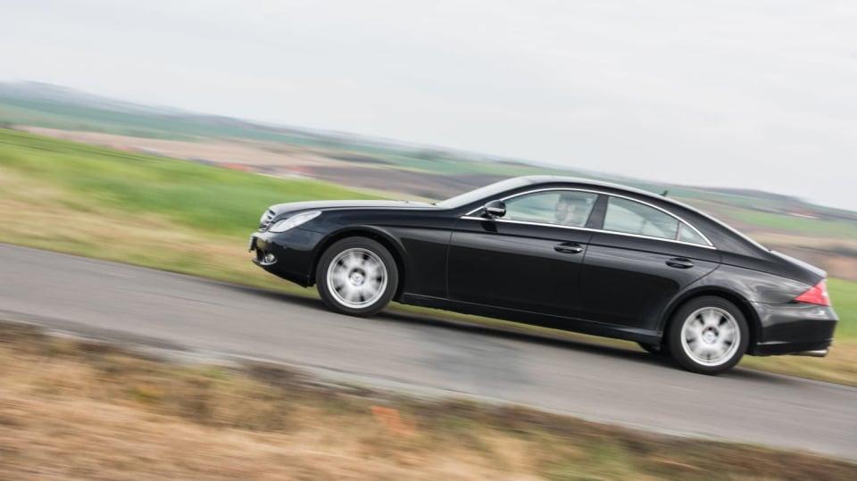 Mercedes-Benz CLS 320 CDI jízda 10