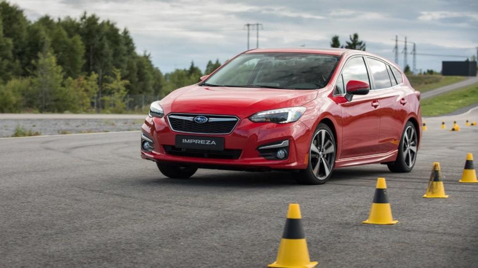 Nové Subaru Impreza vyniká skvělým podvozkem. 9