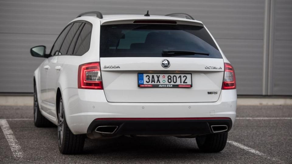 Škoda Octavia RS TDI exteriér 6