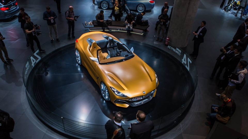 Působivé koncepty BMW na stánku ve Frankfurtu 7