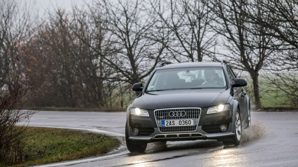 Audi A4 Allroad 2.0 TDI CR jízda 4