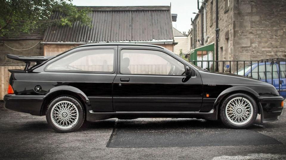Ford Sierra RS500 Cosworth je vyhledávaná rarita. 3