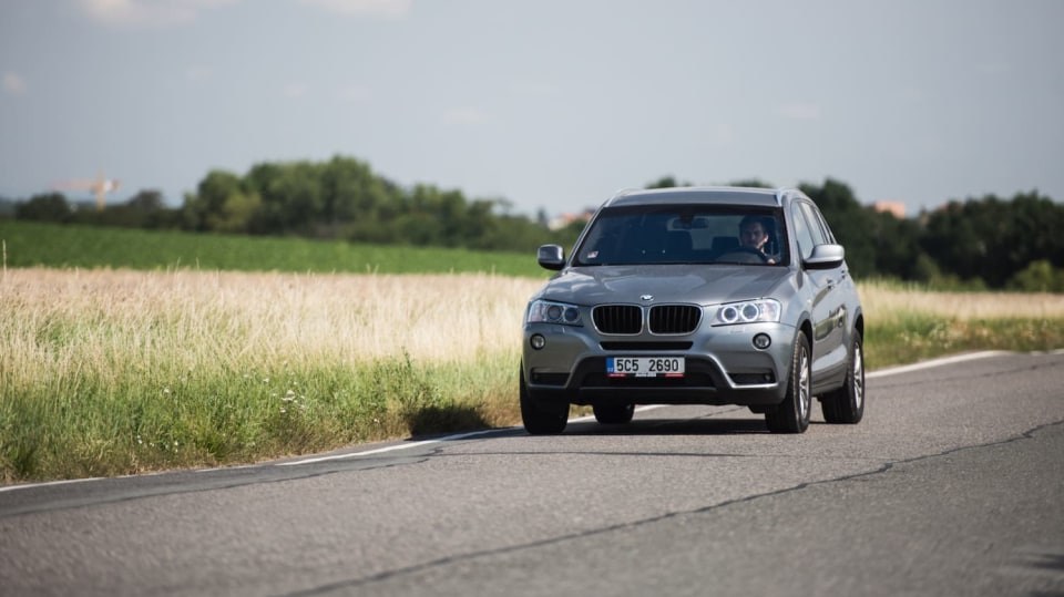 BMW X3 xDrive20d jízda 14