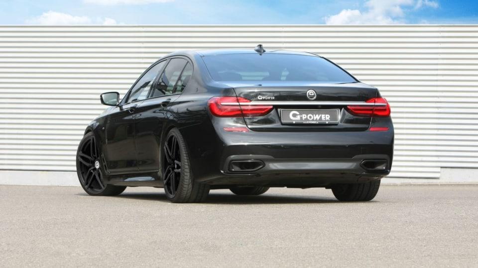 BMW 750d G-Power 4