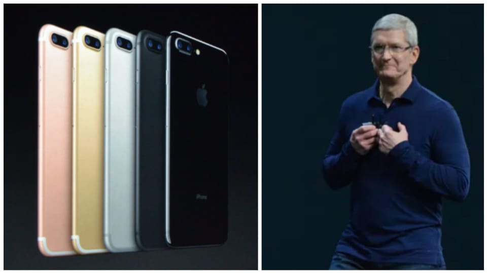 Tim Cook představil na prezentaci nový iPhone 7.