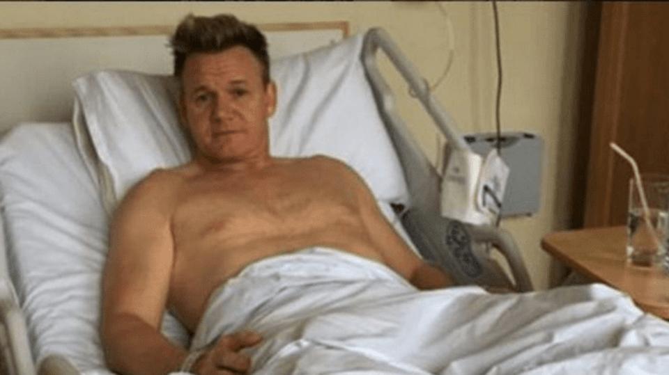 Gordon Ramsey skončil v nemocnici kvůli achilovce