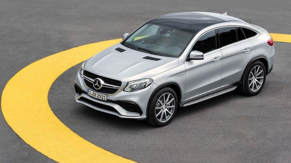 5. Mercedes-AMG GLE 63 S Coupé - 4,2 sekundy, osmiválec 5.5 litru, 430 kW, 760 Nm
