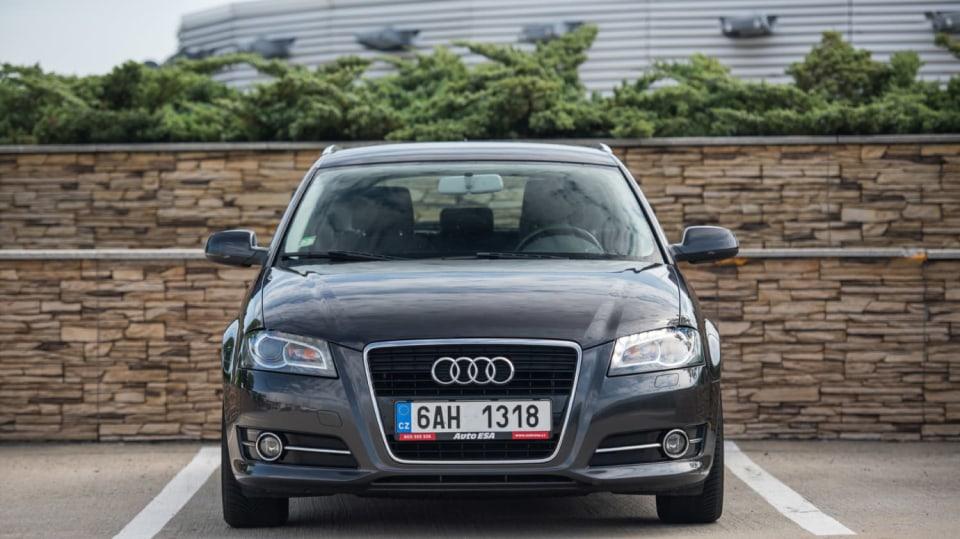 Audi A3 vypadá dobře i po šesti letech a 160 000 kilometrů. 1