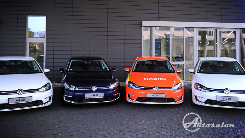 VW e-Golf 1