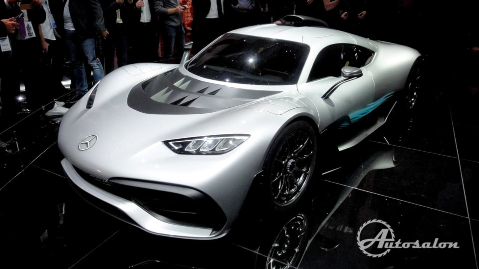 Mercedes-AMG Project ONE - Formule 1 na silnici 4