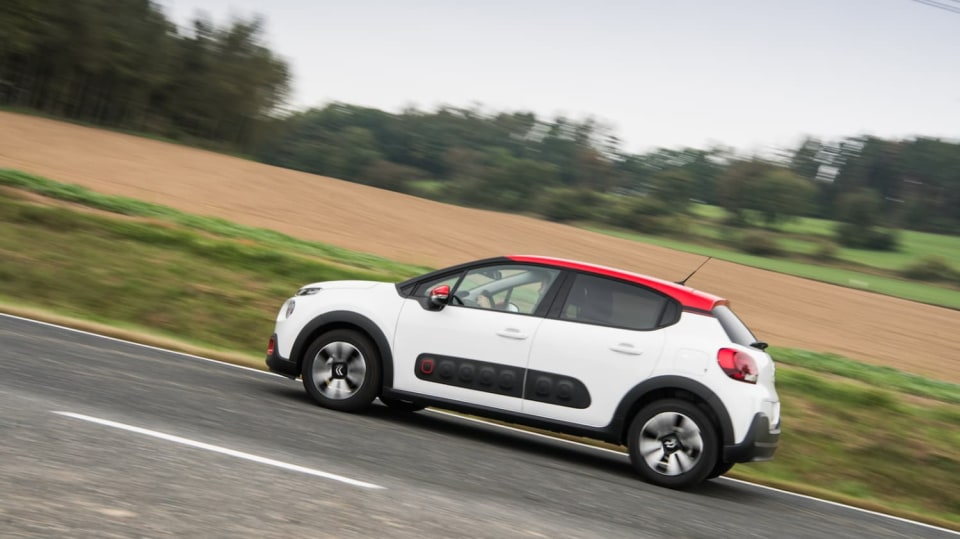 Citroën C3 1.2 PureTech jízda 11