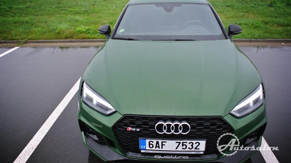 Audi RS5 - zelená, kterou budou zelení nenávidět 24