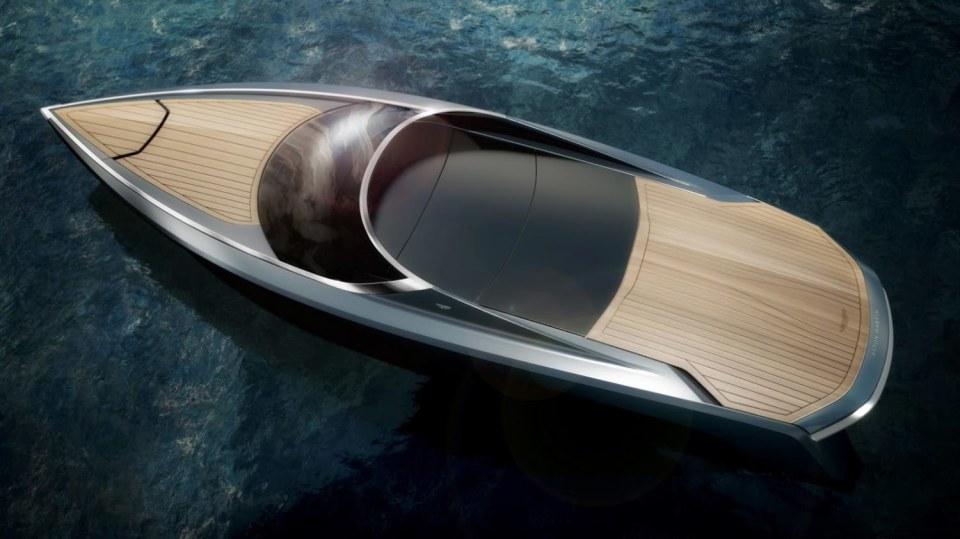 Aston Martin nabízí luxusní jachtu AM37 i ponorku Neptune. 10